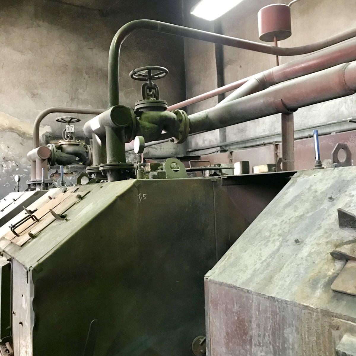 Modernizacja istniejącej kotłowni węglowej na olejową w Zakładzie Napraw Taboru w Tczewie
