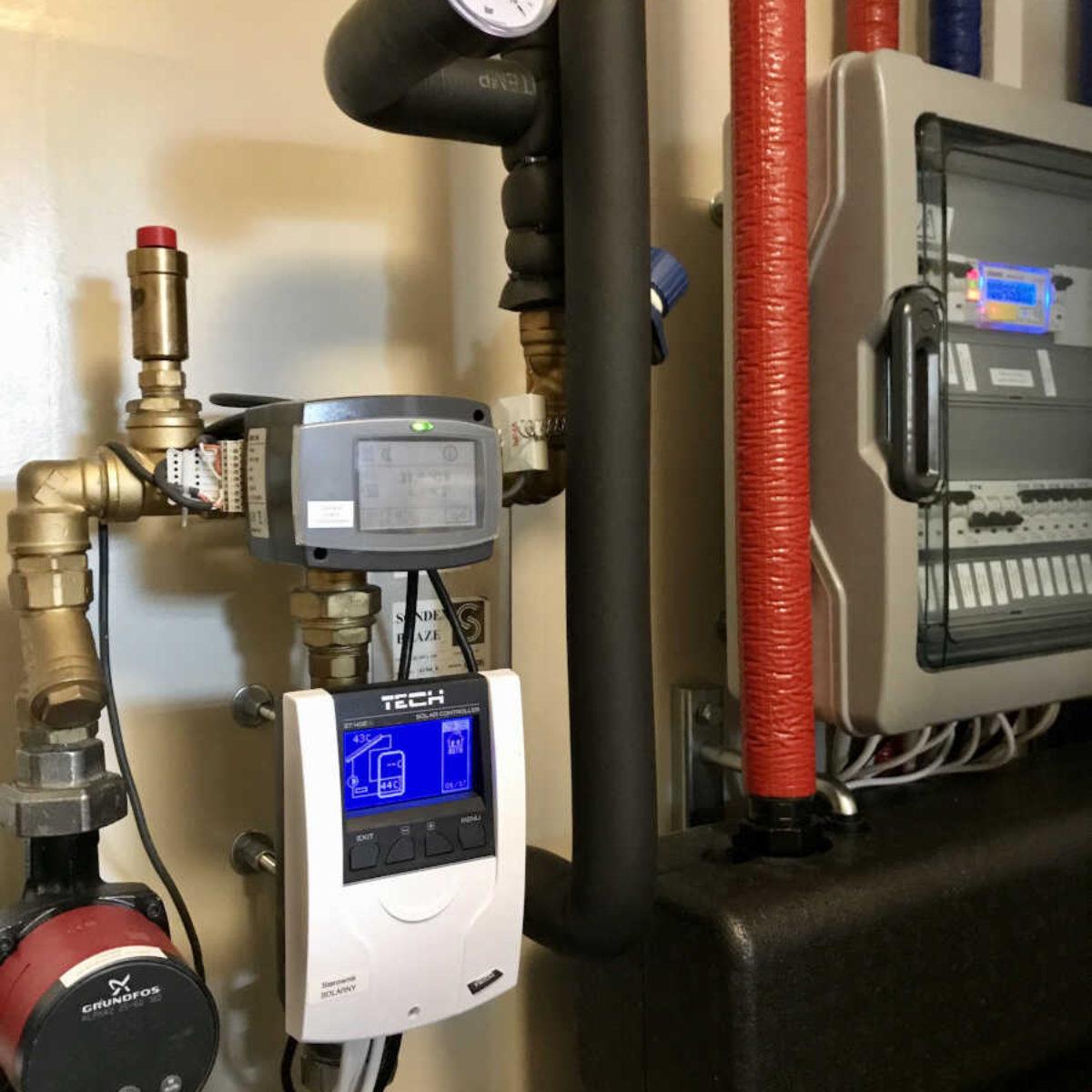 Modernizacja kotłowni i montaż pompy ciepła Vitocal 200-S