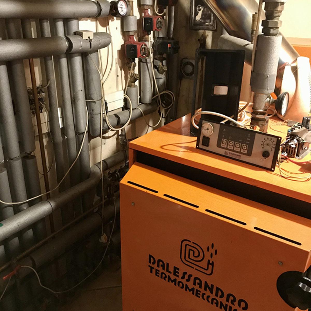 Modernizacja kotłowni i montaż kotła Vitodens 200-W