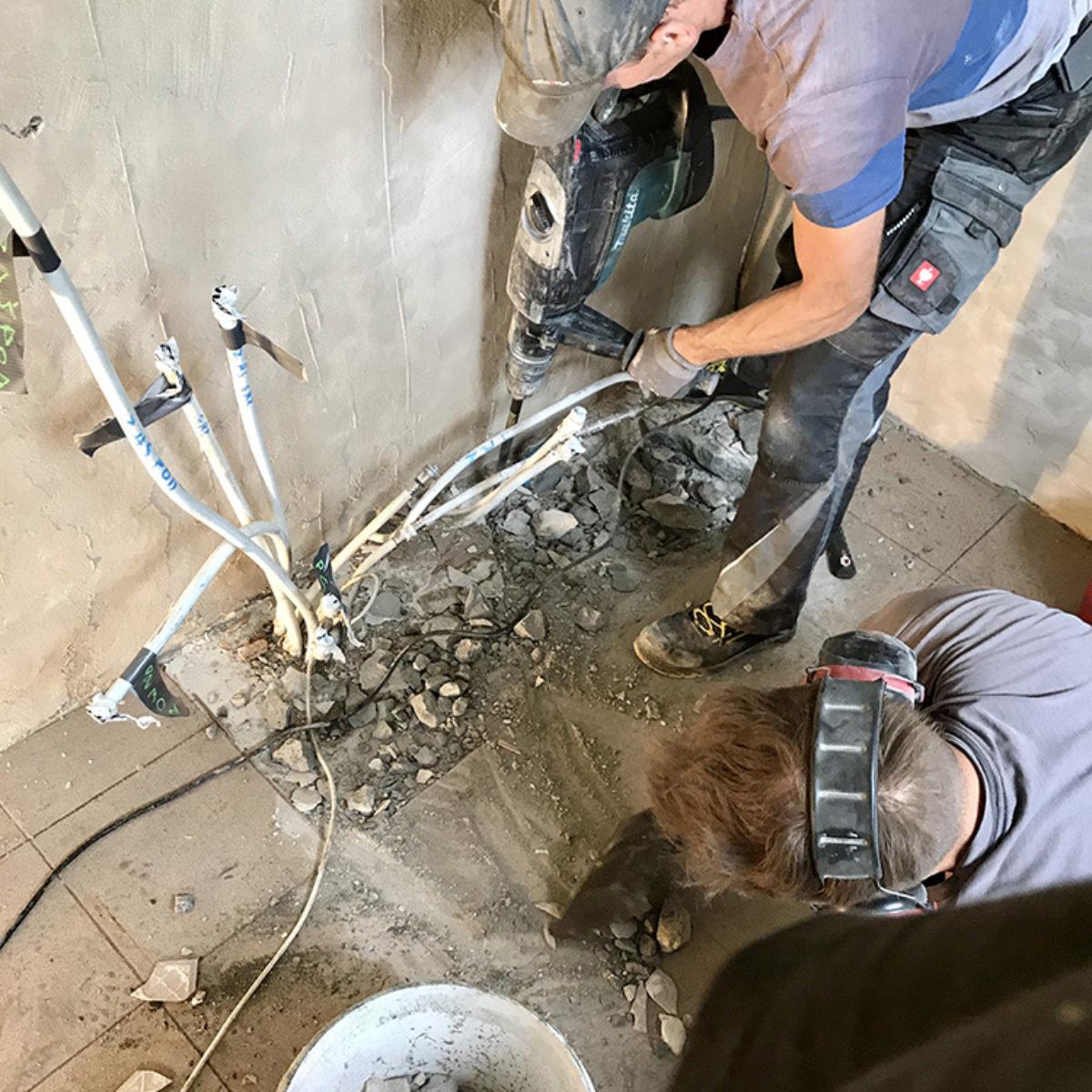 Modernizacja i montaż pompy ciepła Vitocal 200